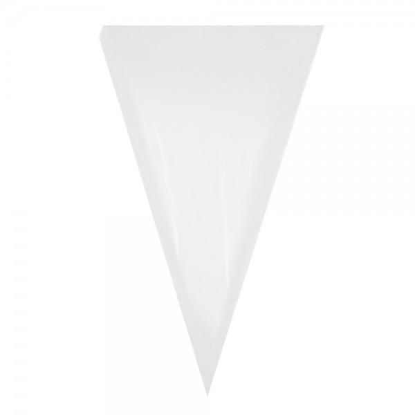 PP-Spitztüten 250x400mm , transparent Stärke 40my