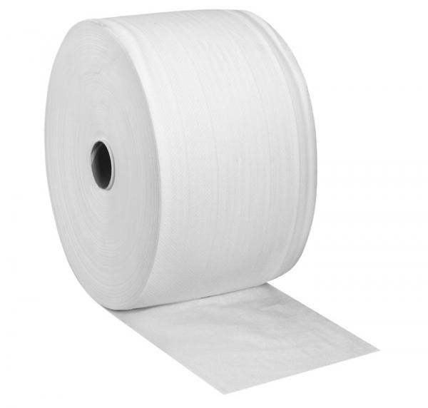 Industriepapierrollen 2-lagig, 22x36cm, 1500 Blatt hochweiß (Zellstoff) - 2 Rollen