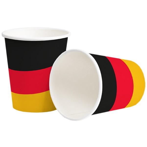 Pappbecher 250ml Deutschland