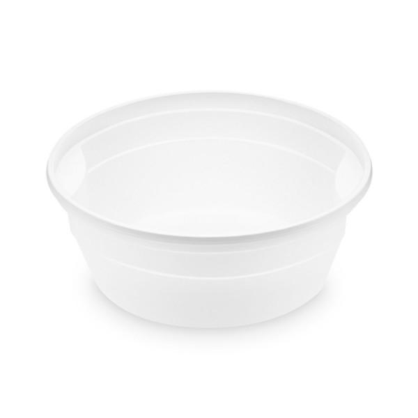 Suppenbecher 350ml (PP), rund, weiß , Ø oben 127mm