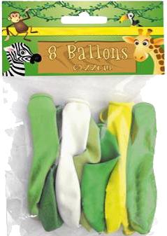 Luftballons Dschungel 220mm