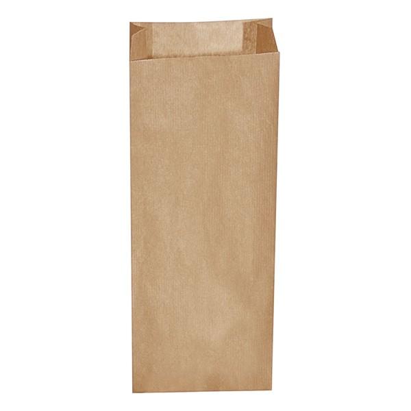 Papier Faltenbeutel braun 3 kg (15+7 x 42 cm)
