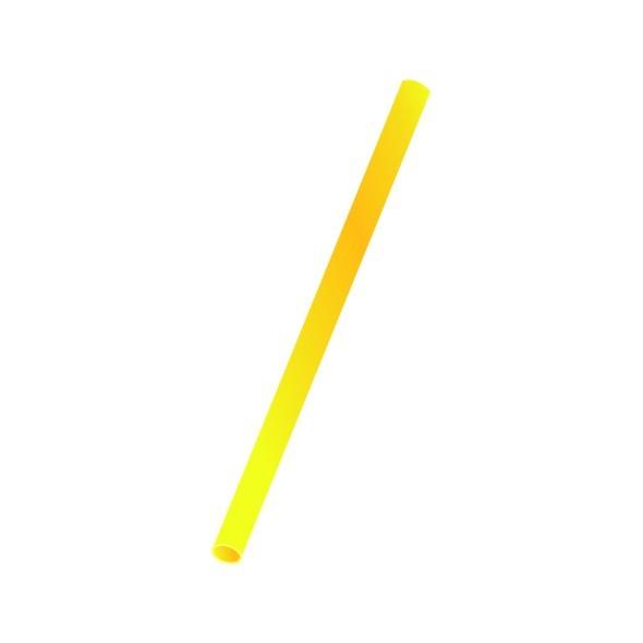 Trinkhalme starr pl gelb 8x250mm