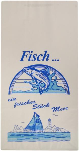 """Warmhaltebeutel 3L mit Motiv """"Fisch"""" 130x80x280mm"""