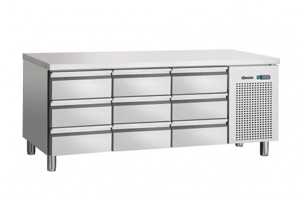 Kühltisch, Umluft, 9SL