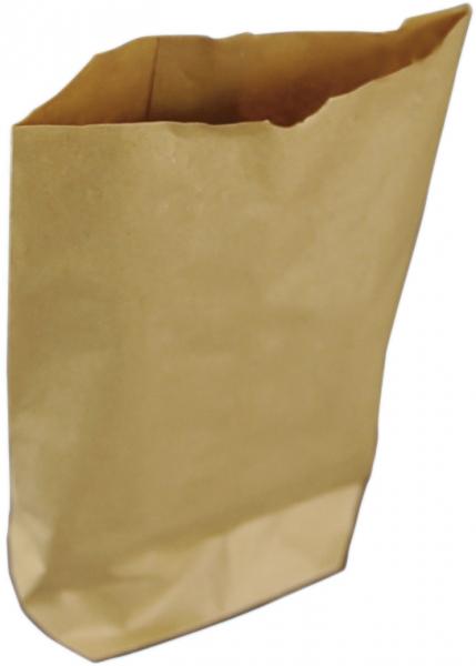 Kreuzbodenbeutel 140x210mm papier braun, Tragebeutel