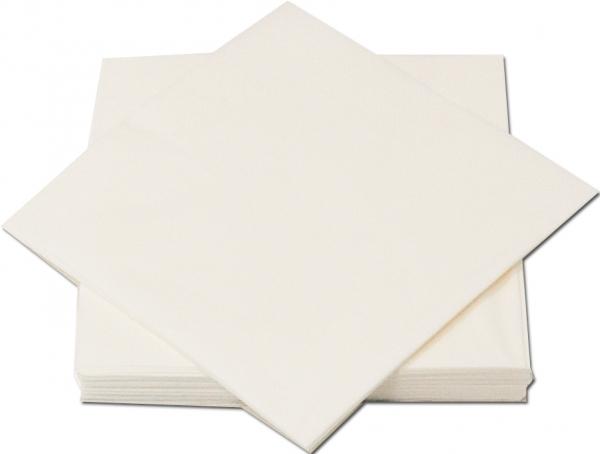 B5 Weiß Premium Servietten papier 330mm 3-lagig 1/4 Falz
