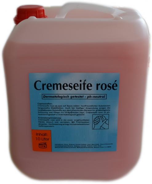 Cremeseife Profi mild rose 10L