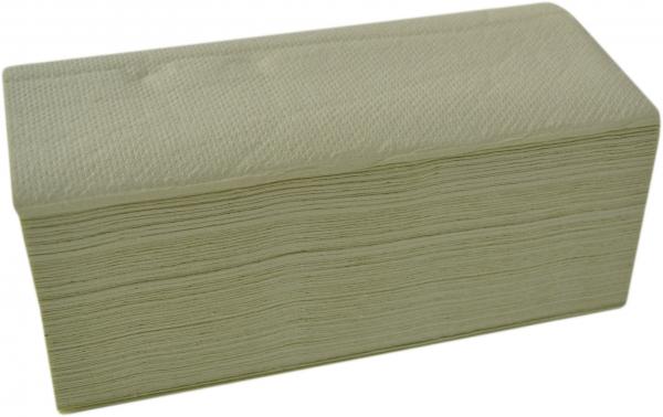Papierhandtücher 2-lagig grün 250x230mm ZZ-Falz