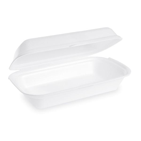 Lunch-Box weiß 240 x 133 x 75 mm