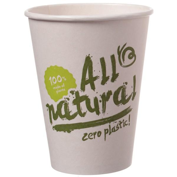 B1 Bio Coffee To Go Becher ppk 300ml Coffee Cup all nature, Kaffeebecher kompostierbar