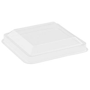 Deckel für Fingerfood-Becher eckig 60ml , klar 50 x 50 x 45mm