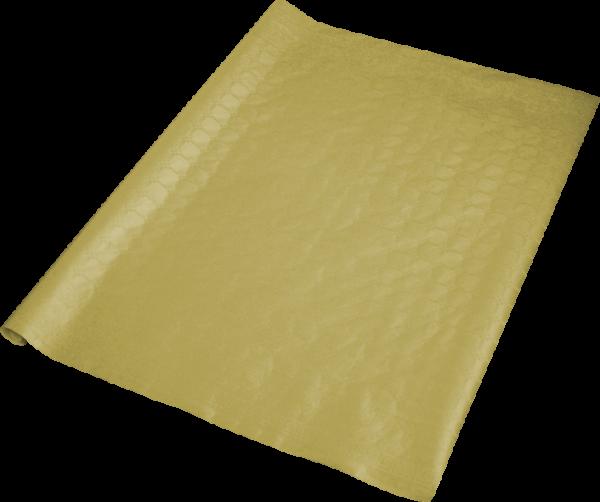C5 Tischdecke beschichtet gold 1000mmx8m mit feiner Damastprägung