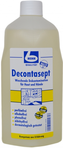 Decontasept Waschlotion Becher 1L