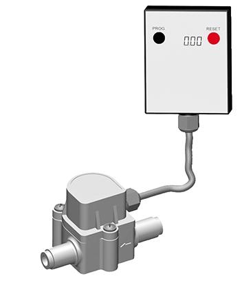 Wasserzähler zu Wasserfilter 109856