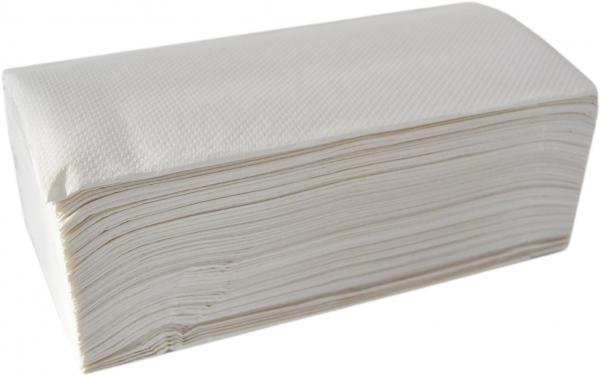 Papierhandtücher 2-lagig hochweiss 244x230mm ZZ-Falz