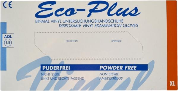 Vinyl Handschuhe XL Ungepudert transparent