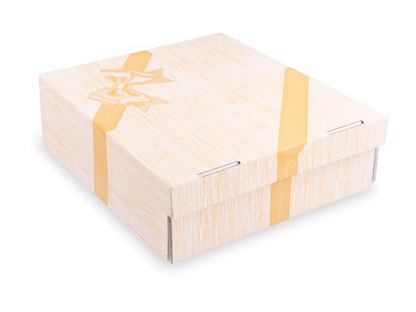 """Tortenkarton pp 1-teilig mit Motiv """"Tortenstück"""", 280x280x100mm"""