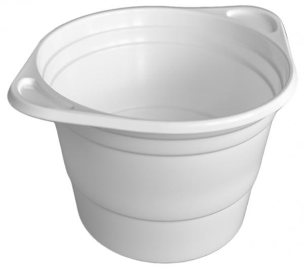 A1 Suppenterrine rund pl weiß 250ml , Ø oben 9cm , Ø unten 6cm