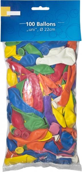 Luftballons bunt 220mm