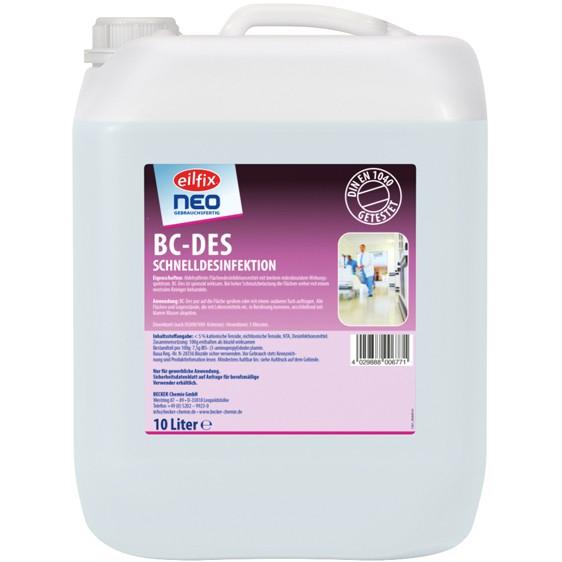 Schnelldesinfektionsreiniger EILNIX-NEO 10 Liter