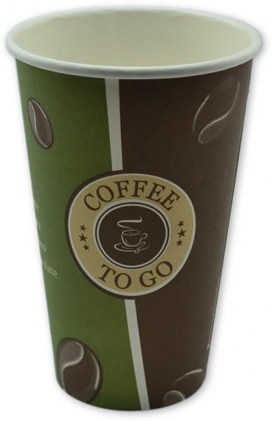 B2 Coffee To Go Becher ppk 400ml, 16OZ, beschriftet Topline, Kaffeebecher