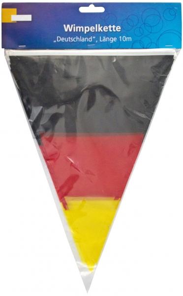 Wimpelkette Deutschland 10m