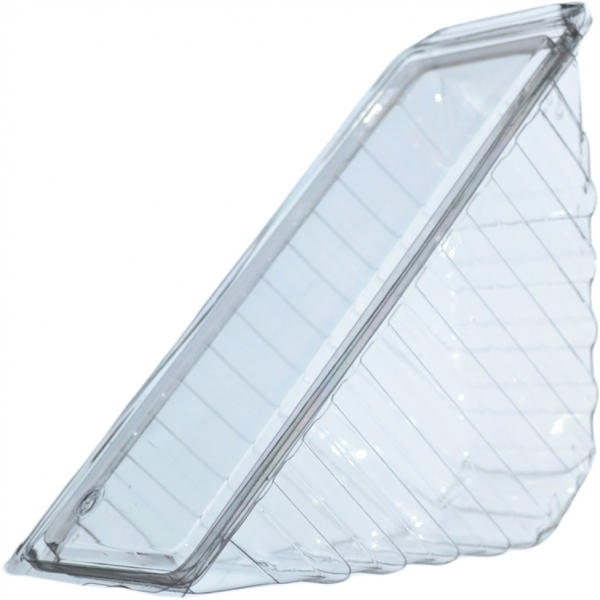 Sandwichbox für 4 Scheiben pet transparent 185x80x90mm