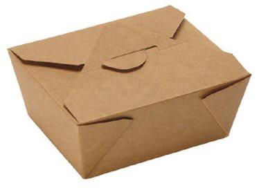 Food Box ppk braun 175x130mm / 63mm / 152x120mm