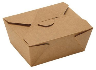 Lunch Box 1000ml ppk braun 170x170x70mm