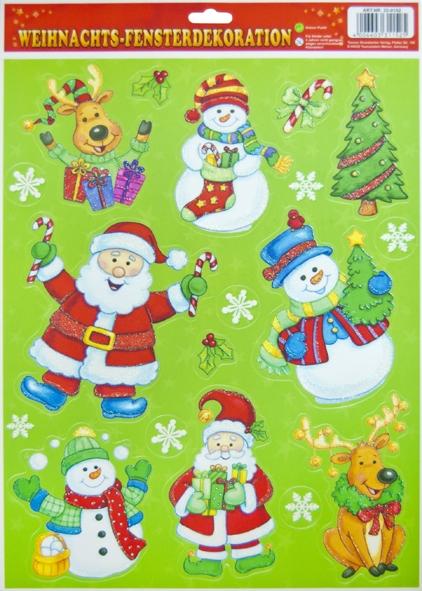 """Weihnachts-Fensterdekoration mit Motiv """"Weihnachten2"""" DIN A3"""