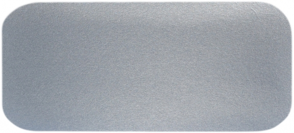 G7 Alu-Karton-Deckel eckig weiß 218x113mm 240901