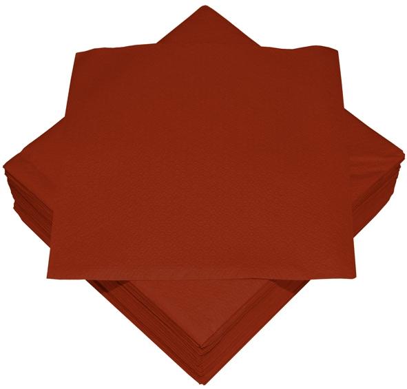 Bordeaux Premium Servietten papier 330mm 3-lagig 1/4 Falz