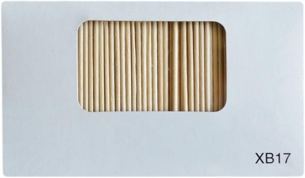 Zahnstocher holz 67x2mm einzeln verpackt