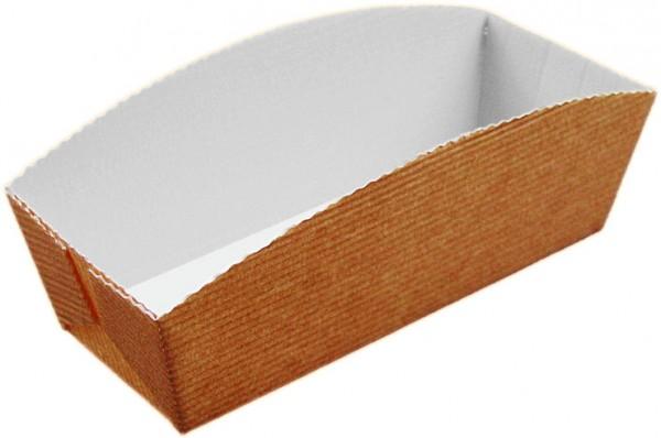 Einweg-Backform 180x66x75mm papier