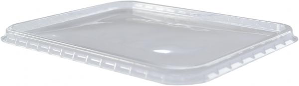 Deckel transparent 180x135mm für Verpackungsbecher H1+H2