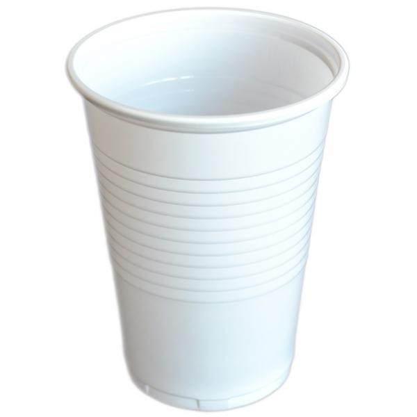 Trinkbecher pl weiß 300ml