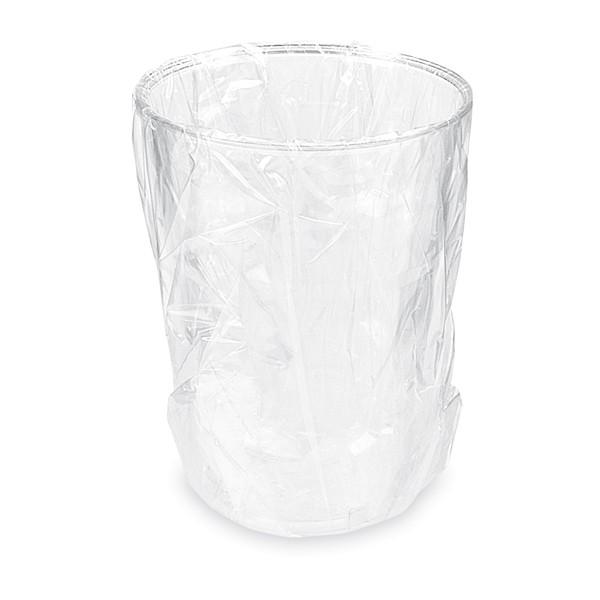 Trinkglas aus Plastik einzeln verpackt 200ml glasklar