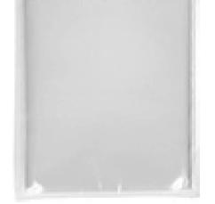 U8 Airlaid-Mitteldecke stoffähnlich weiß 800x800mm