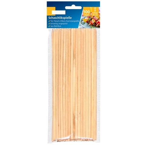 Schaschlikspieße Bambus 20 cm