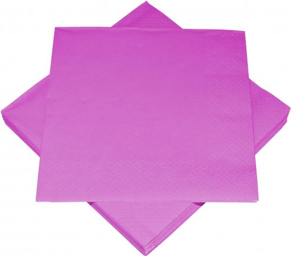 Pink Premium Servietten papier 330mm 3-lagig 1/4 Falz