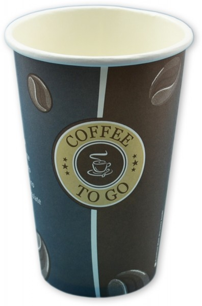 B1 Coffee To Go Becher ppk 300ml, 12OZ, beschriftet Topline, Kaffeebecher