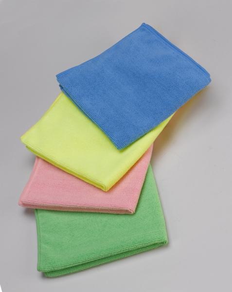 Microfasertücher Microfasertücher Extra 40x40 blau, rot, gelb oder grün - 10x20 Stück