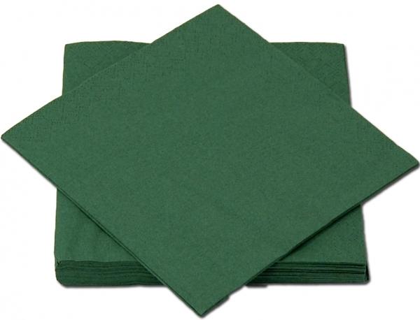 Grün Premium Servietten papier 330mm 3-lagig 1/4 Falz