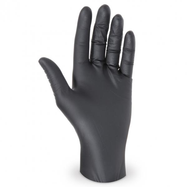 Nitril Handschuhe Größe M Ungepudert schwarz