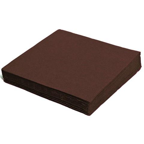 Servietten papier braun 330mm 2-lagig 1/4 Falz