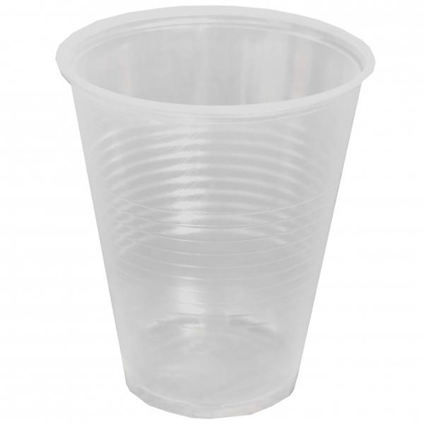 Trinkbecher pl transparent 300ml mit Durchmesser von 95mm