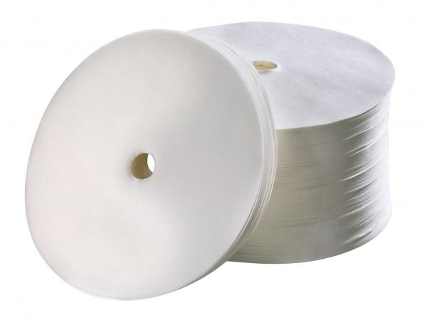 Bartscher Rundfilterpapier 245mm, 1000 Stück